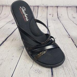 Sketchers Memory Foam Wedge Sandals